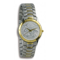 Contemporary Florin 2-tone Case & Bracelet..